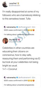 "(VIDEO) ""You Are Very Stupid, Ogun Kill You There!"" – Nigerians Blasts Naira Marley Over What He Wrote About Coronavirus 4"